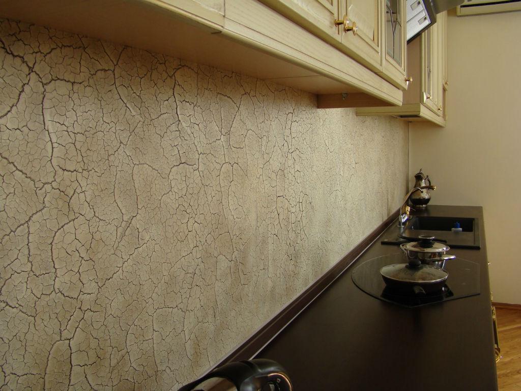 Отделка стен кухне своими руками фото 20