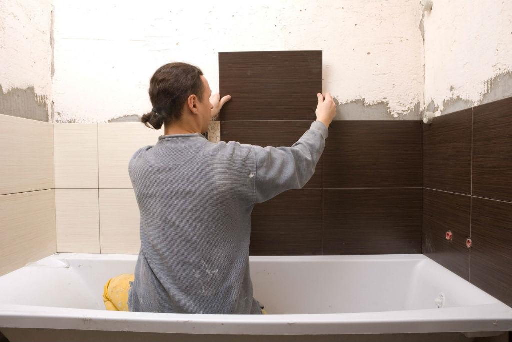 Плитка для ванной комнаты укладка своими руками 99