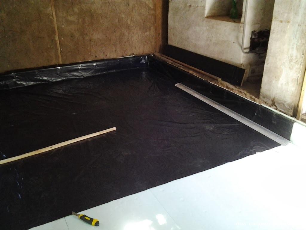 Гидроизоляция ванны на кафельный пол наливной пол какой форум