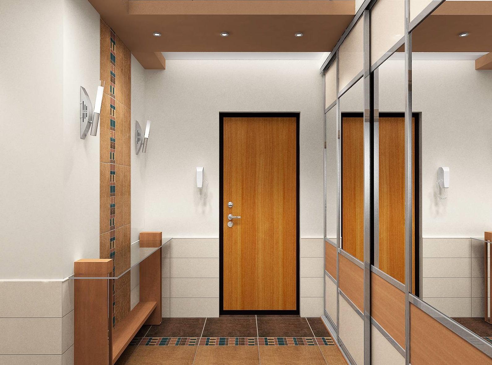 Дизайн-проект трехкомнатной квартиры 75 квм в Москве