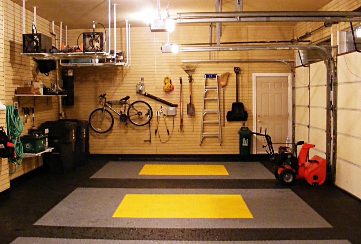 Обустройство гаража внутри своими руками: фото идеи ремонта