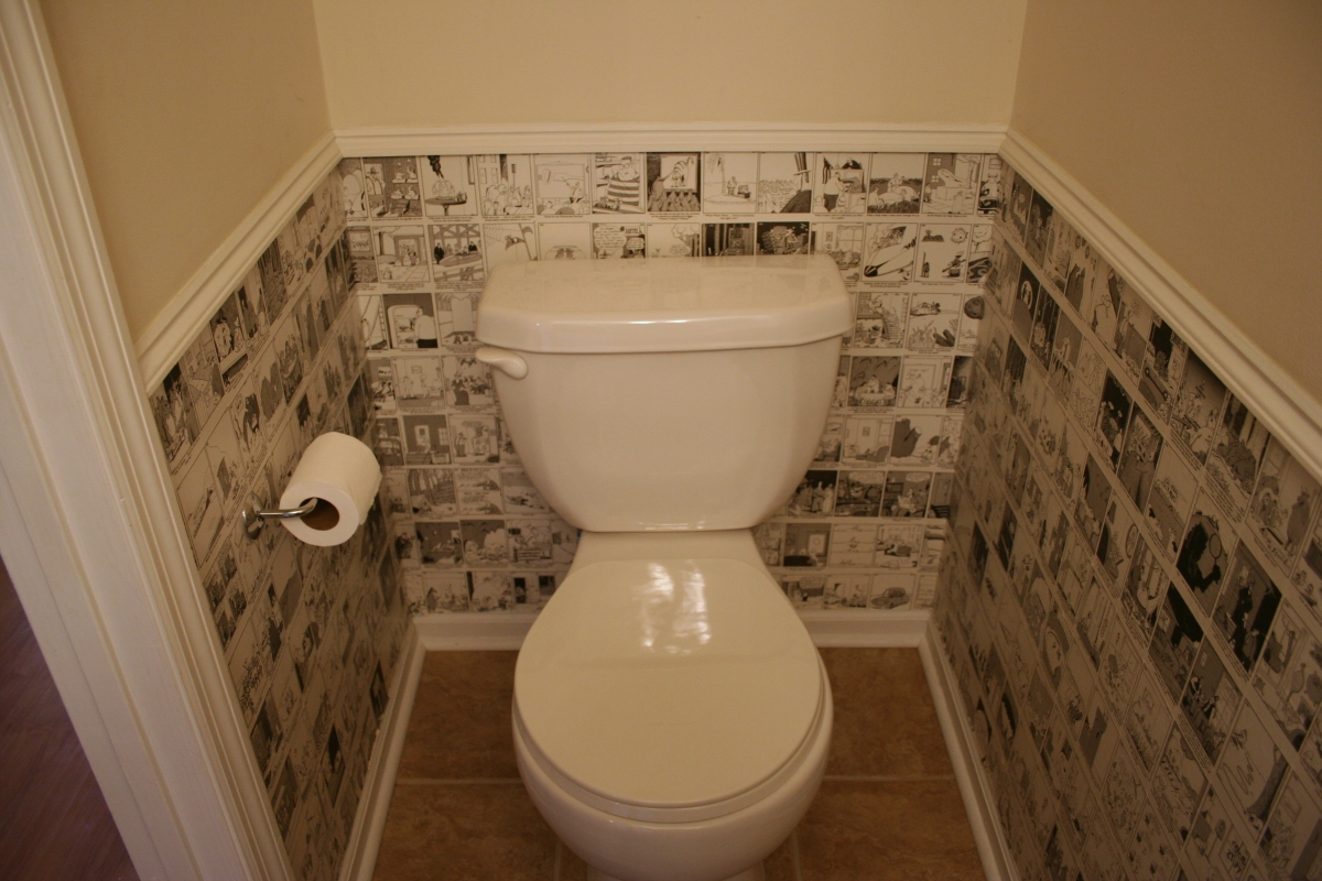 Ремонт своими руками в маленьком туалете фото своими руками