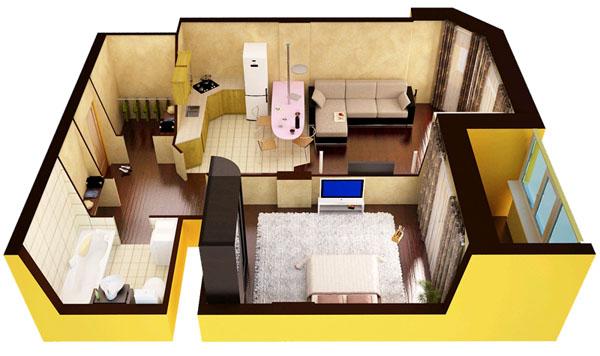 Делаем-из-однокомнатной-квартиры-двухкомнатную