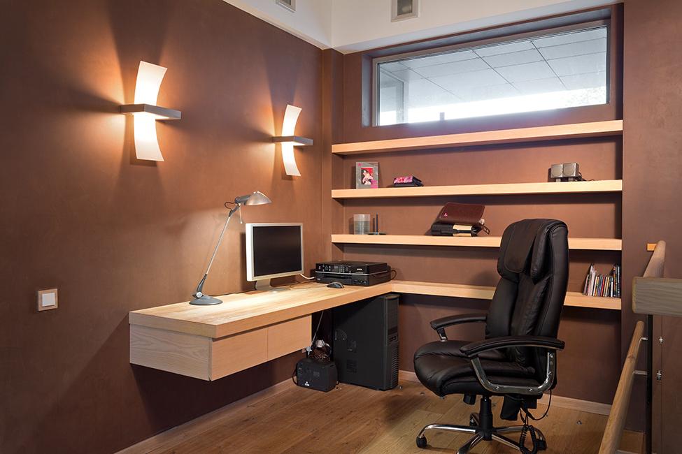 Ремонт кабинета в офисе 48