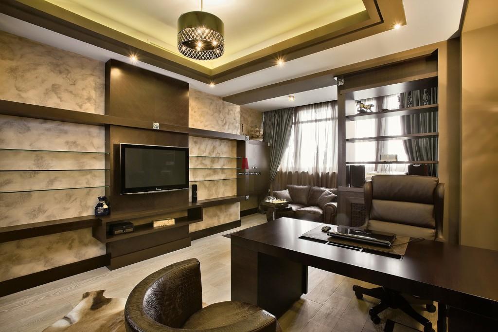 Интерьеры-кабинета-в-квартире
