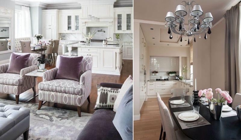 Кухня-гостиная-и-кухня-столовая