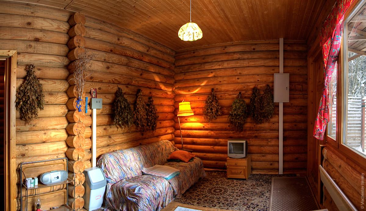 Баня интерьер комната отдыха дизайн