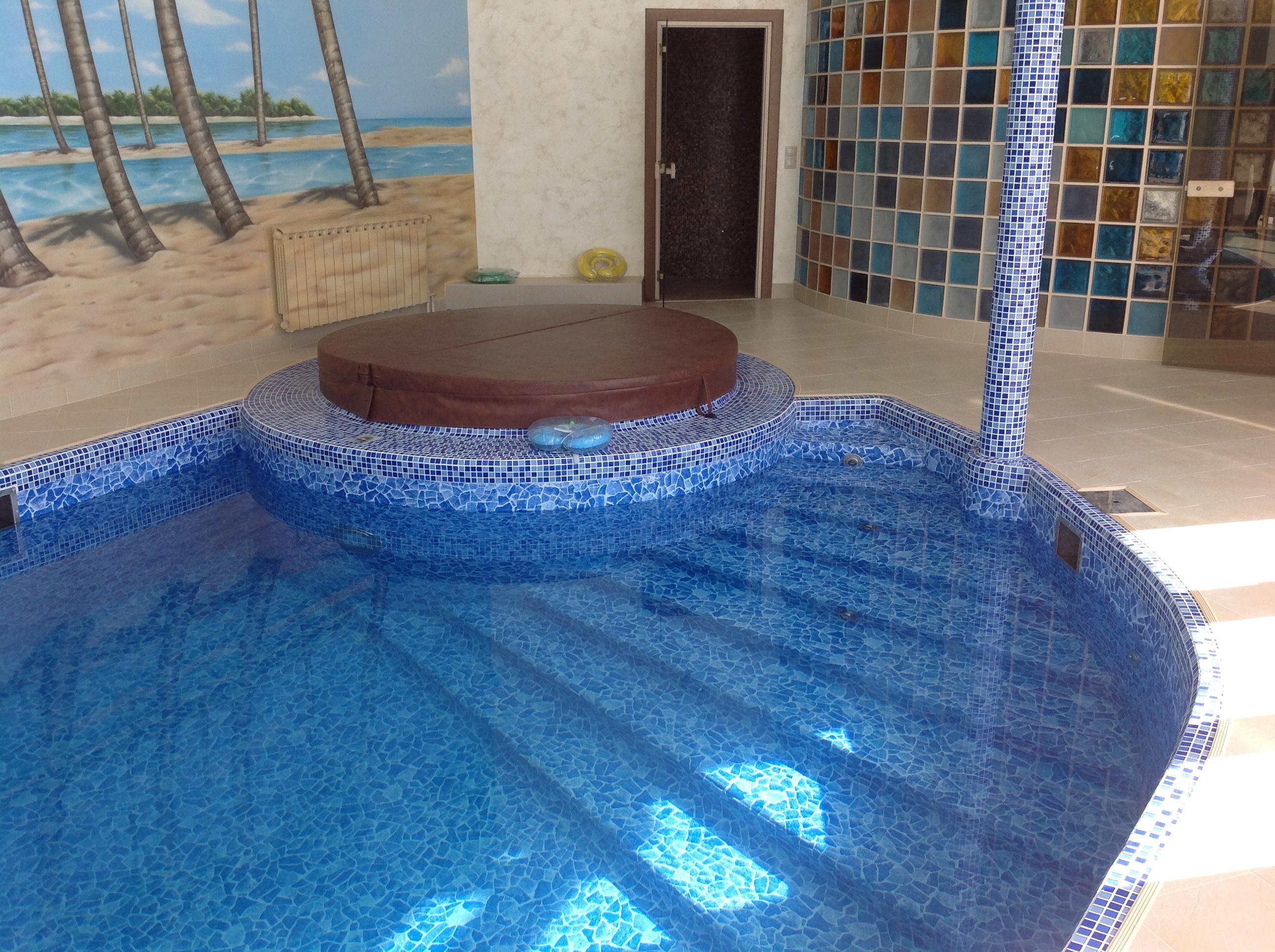 Лестница из полипропилена для бассейна своими руками