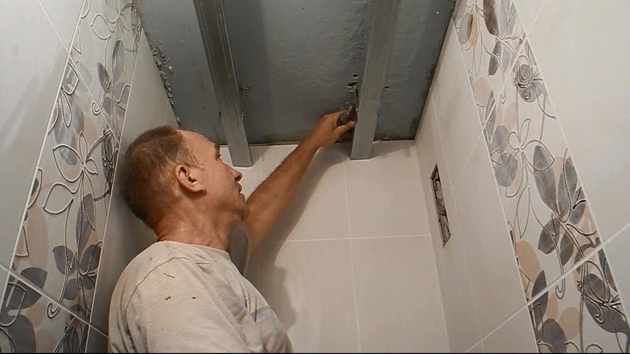 Как правильно сделать ремонт в ванной пластиковыми панелями 451