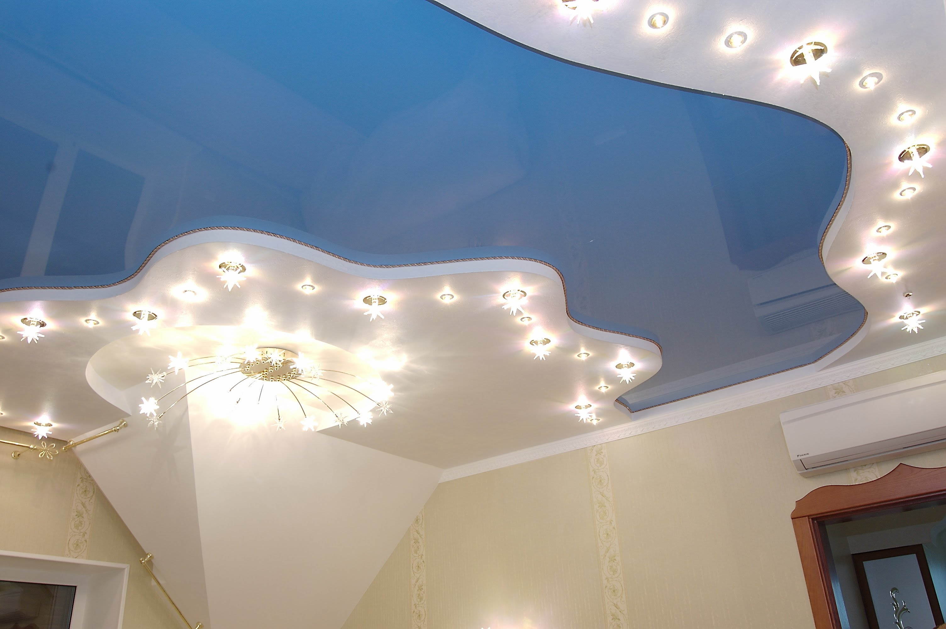 Идеи для ремонта потолка фото