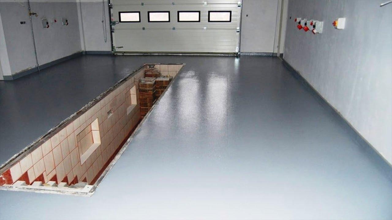 Мастичные наливные полы для гаража лахта гидроизоляция паспорт