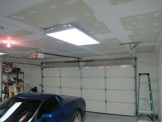 Потолок гаража своими руками фото