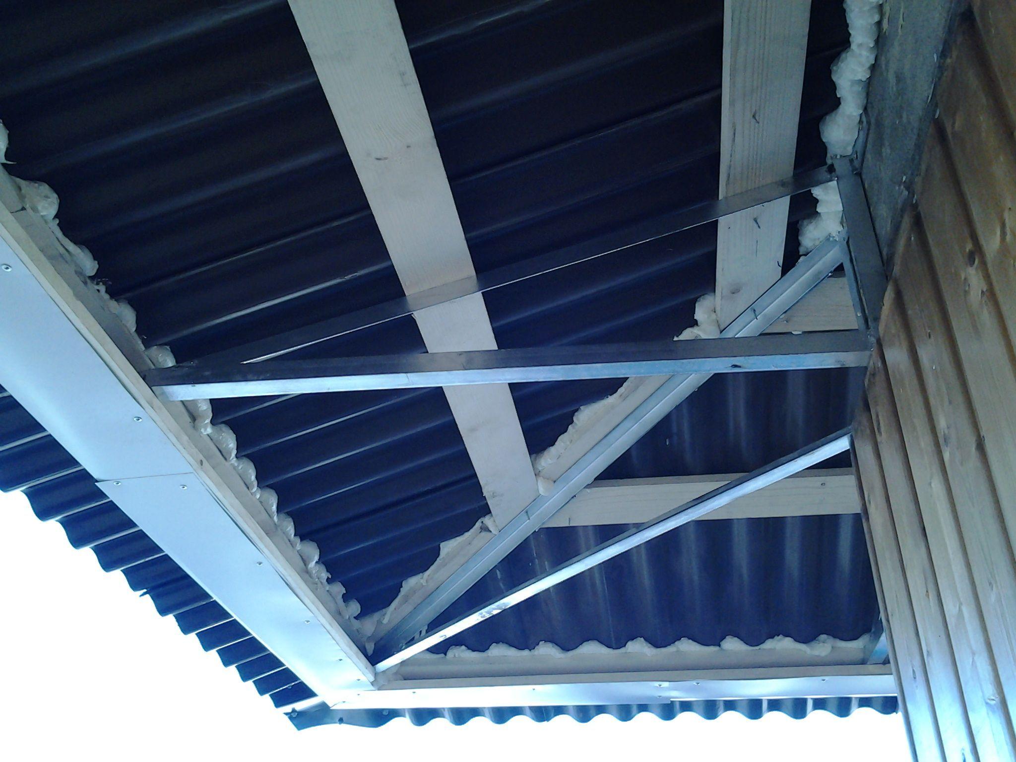 Обшить крышу балкон своими руками 84