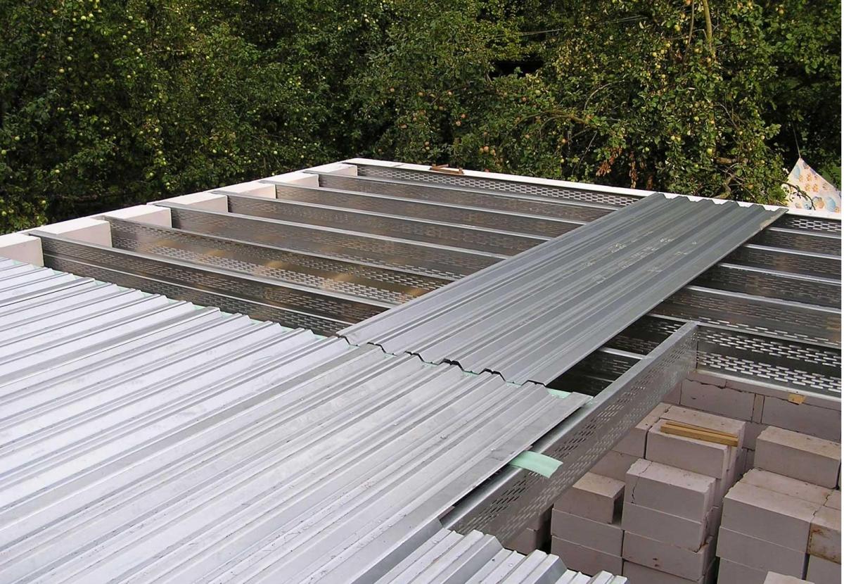 Плоская крыша гаража своими руками