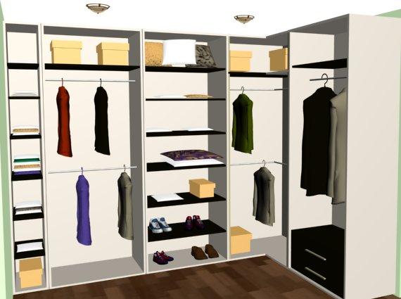 Проект гардеробная комната фото