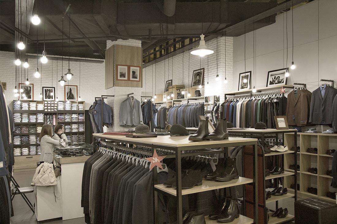 d10d0f55594 Часто в дизайне магазинов мужской одежды присутствуют такие штрихи