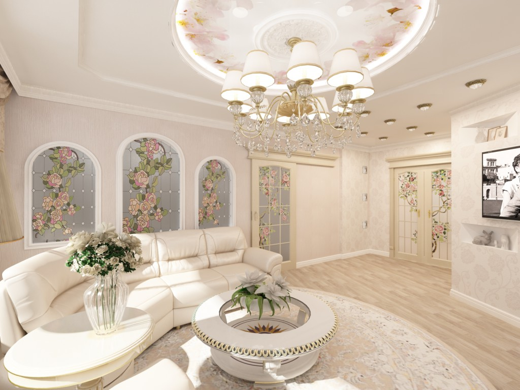 Дизайн-квартир-в-современной-классике
