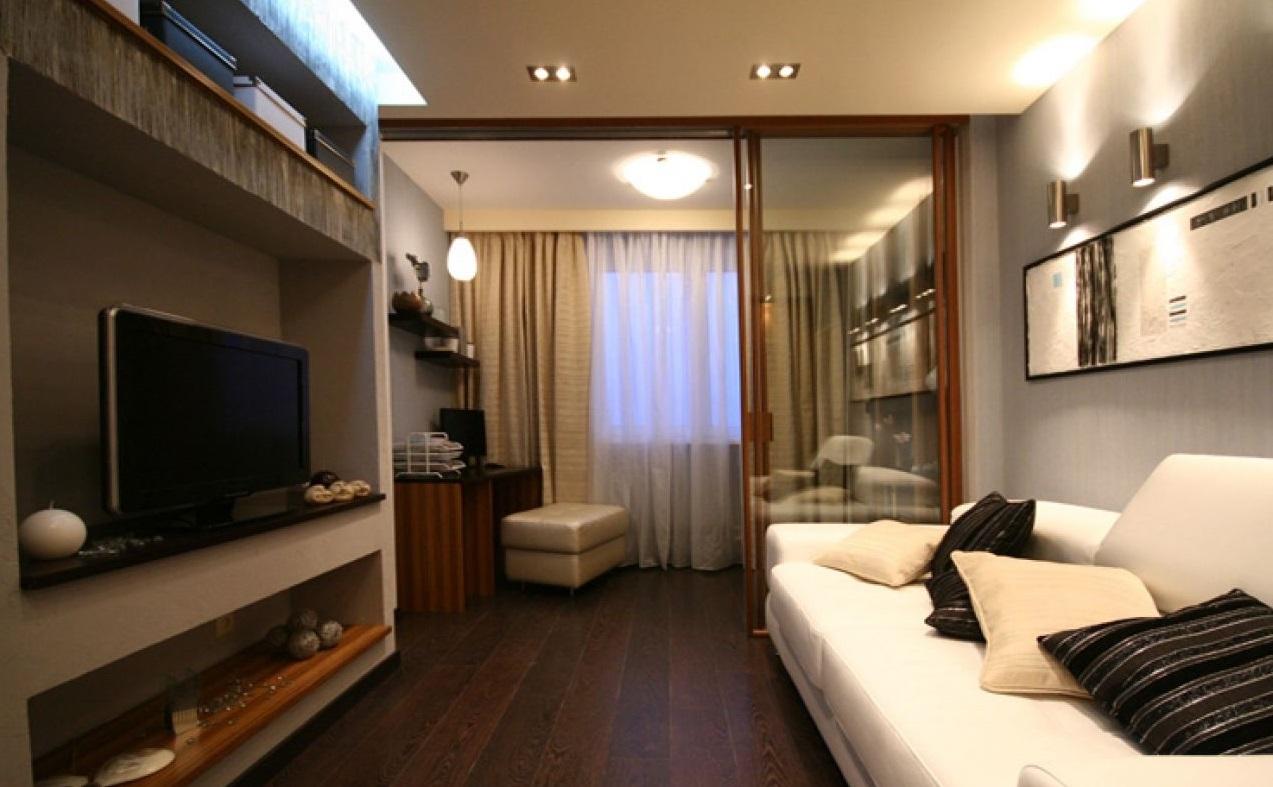 Дизайн комнат в 20 кв. метров