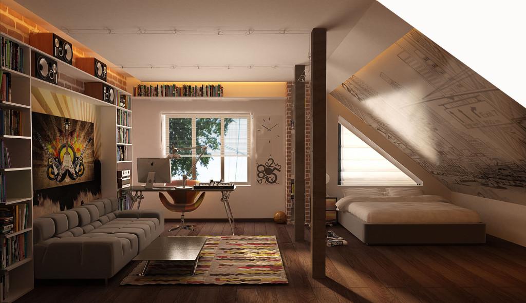 dizajn-mansardi-fotogalereja-interjera-v-chastnom-dome