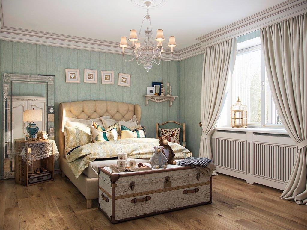 Спальня прованс схема