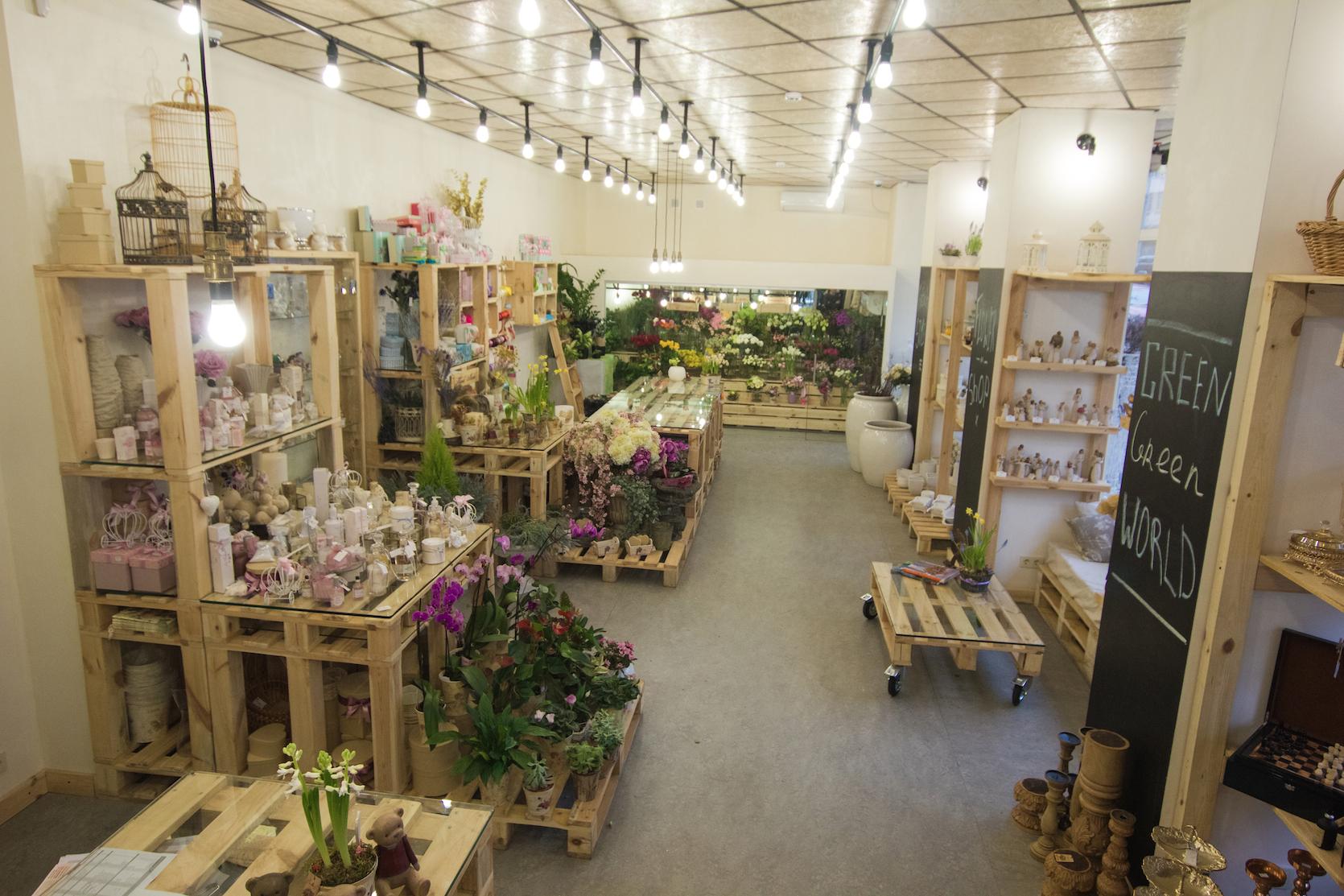 Дизайн фото цветочного магазина