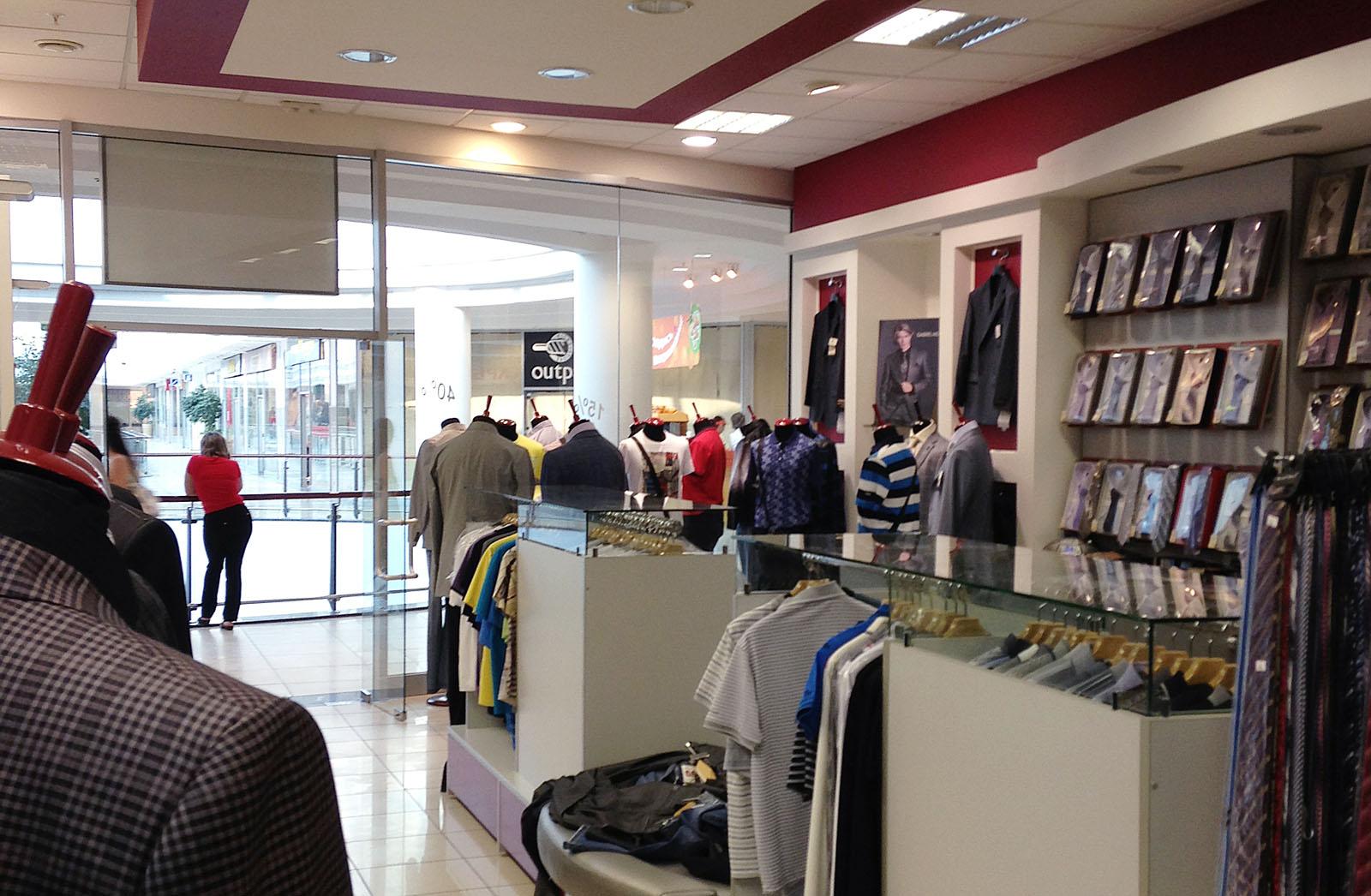 129ededf006 Дизайн мужского магазина одежды  фото способов оформления