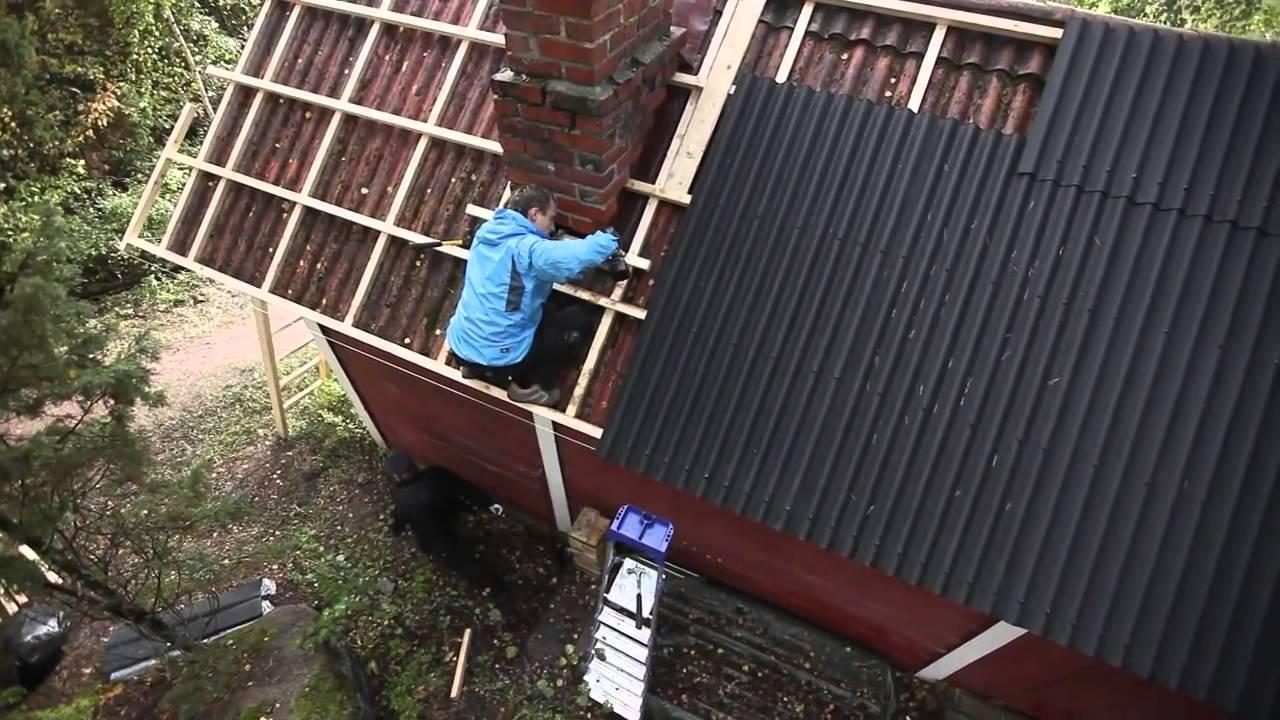 Чем можно отремонтировать шиферную крышу своими руками 48