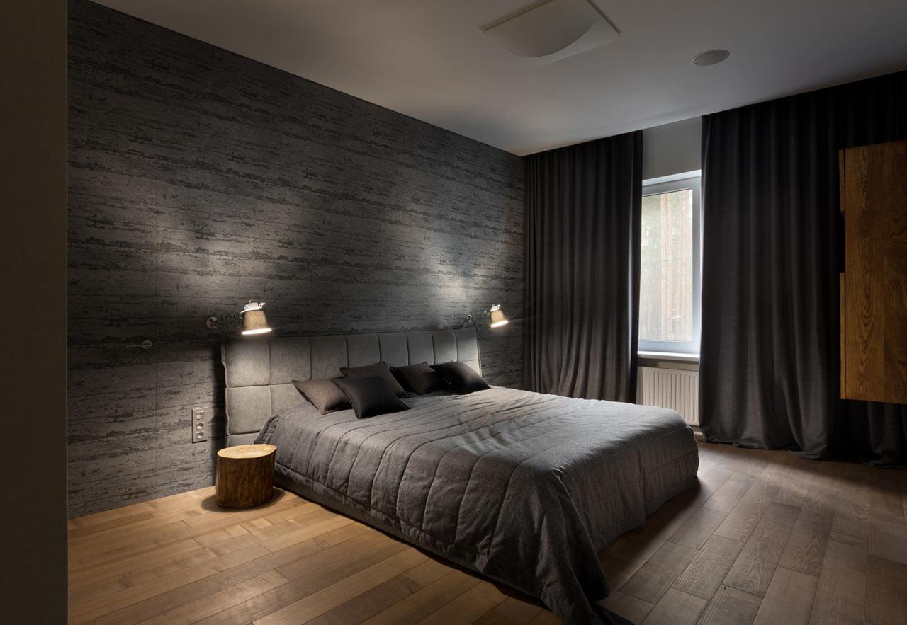 спальня минимализм фото дизайн