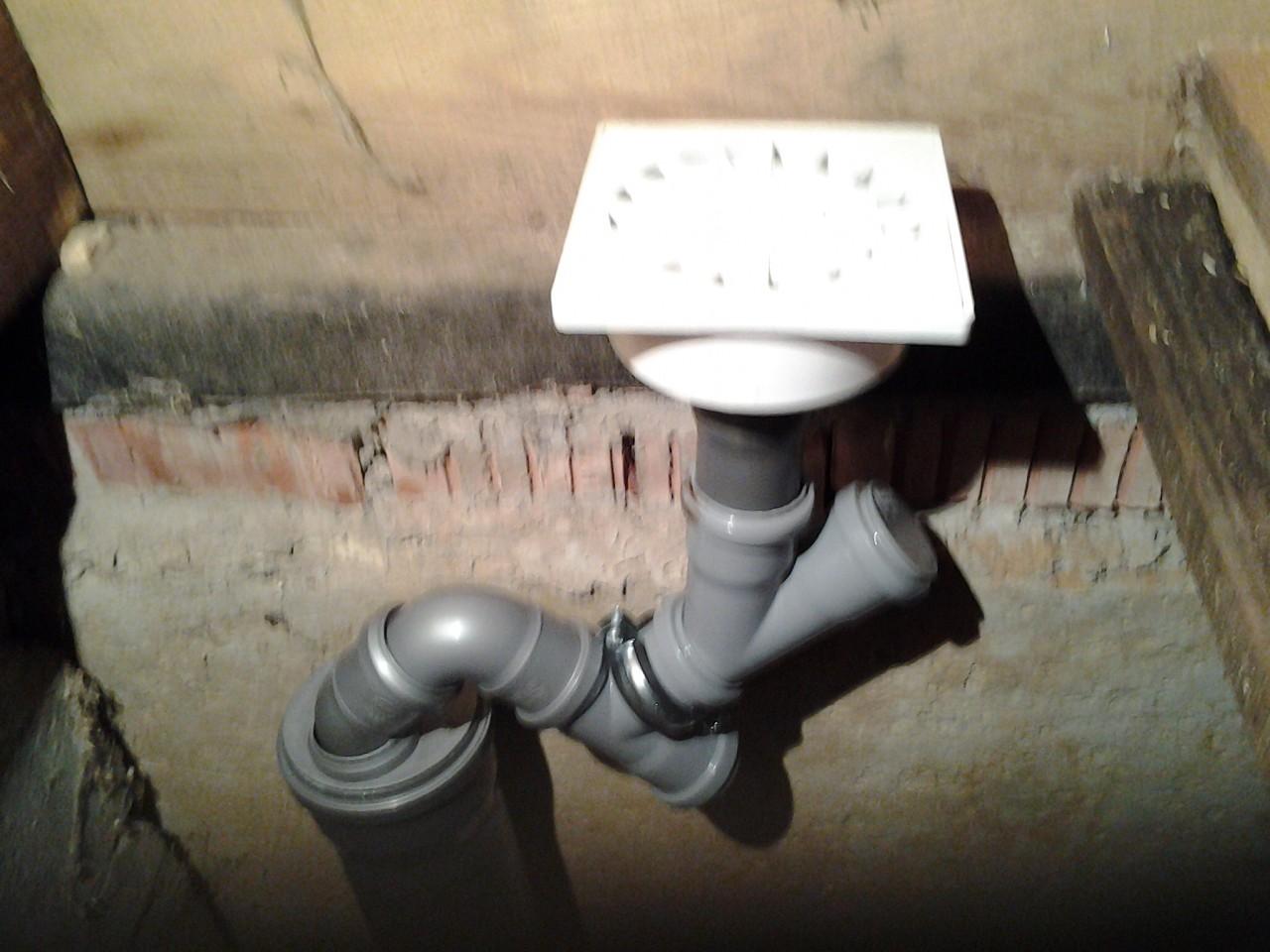 Гидрозатвор канализации своими руками 238