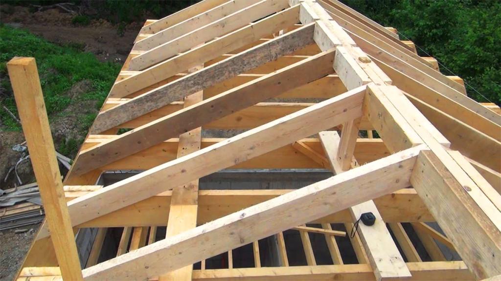 Строим крышу своими руками: видео строительства