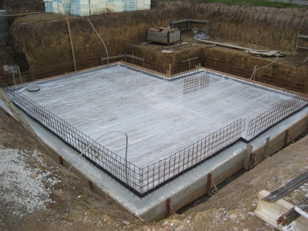 Beton muss 48 Stunden aushärten