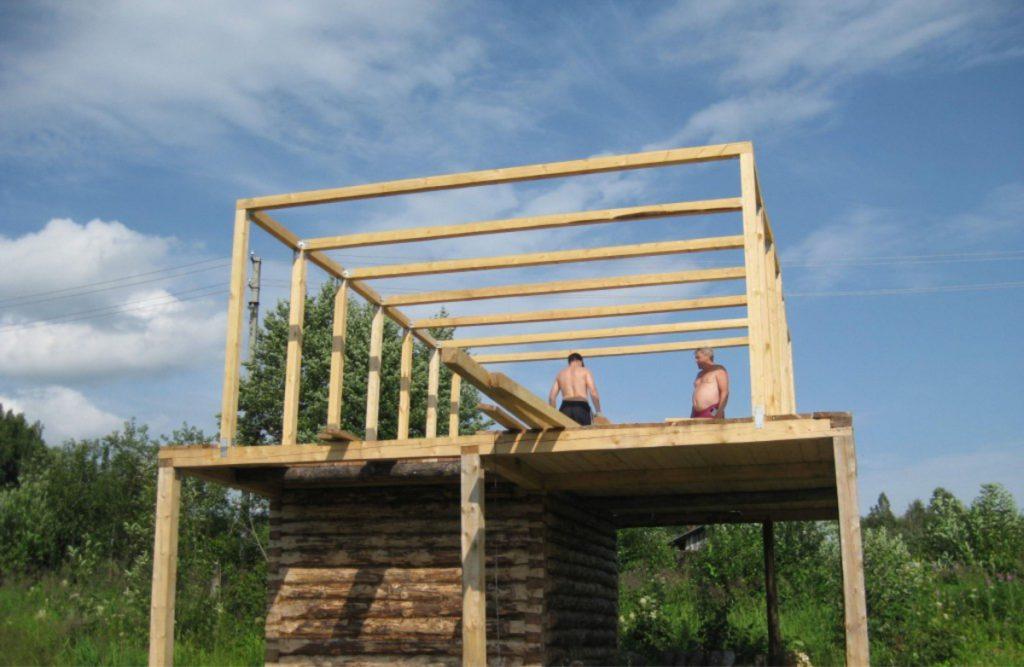Построить крышу своими руками проекты фото