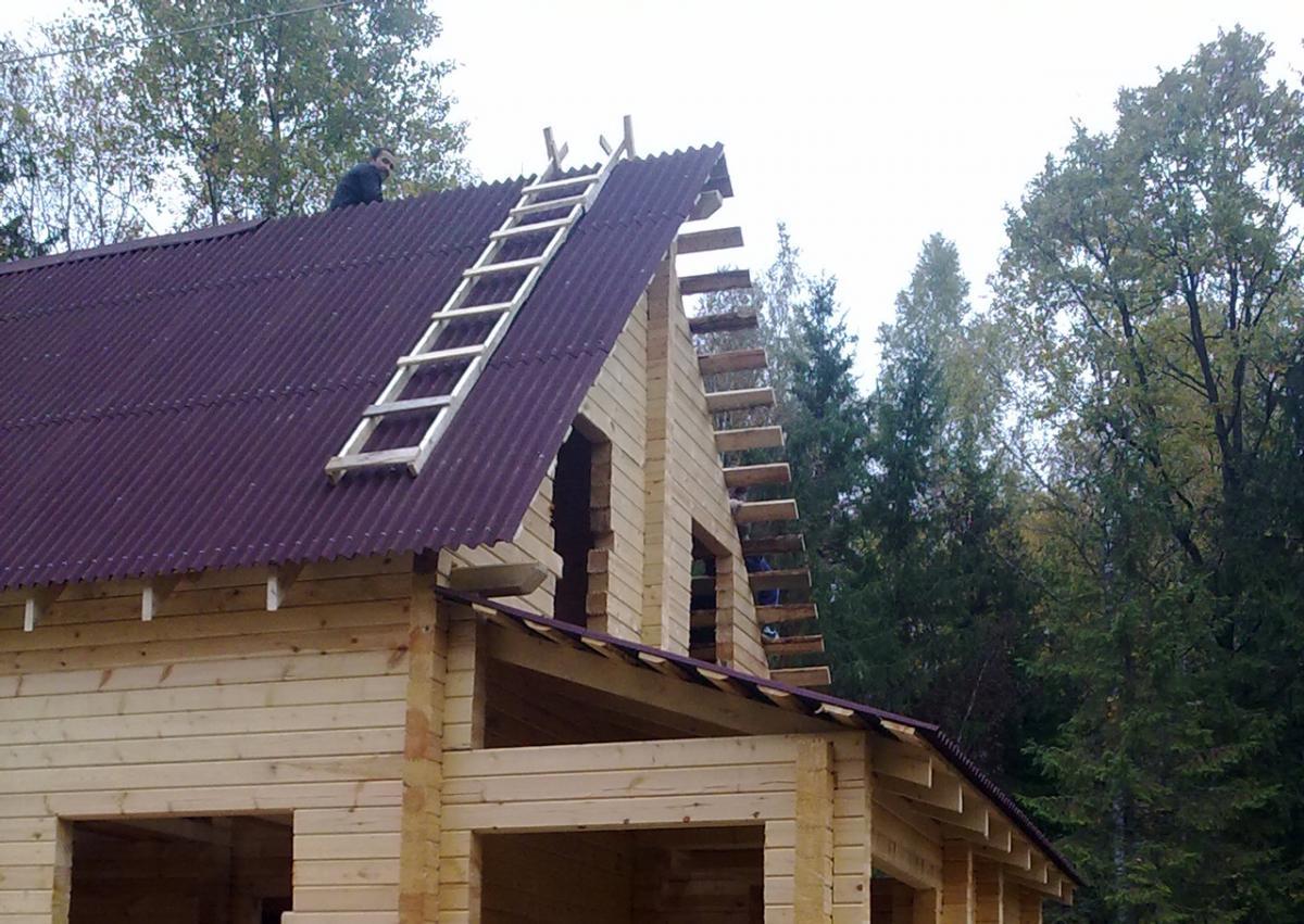 Строительство деревянных домов своими руками от фундамента до крыши
