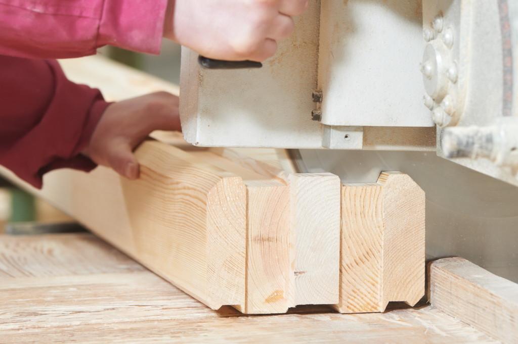 Как изготовить профилированный брус своими руками