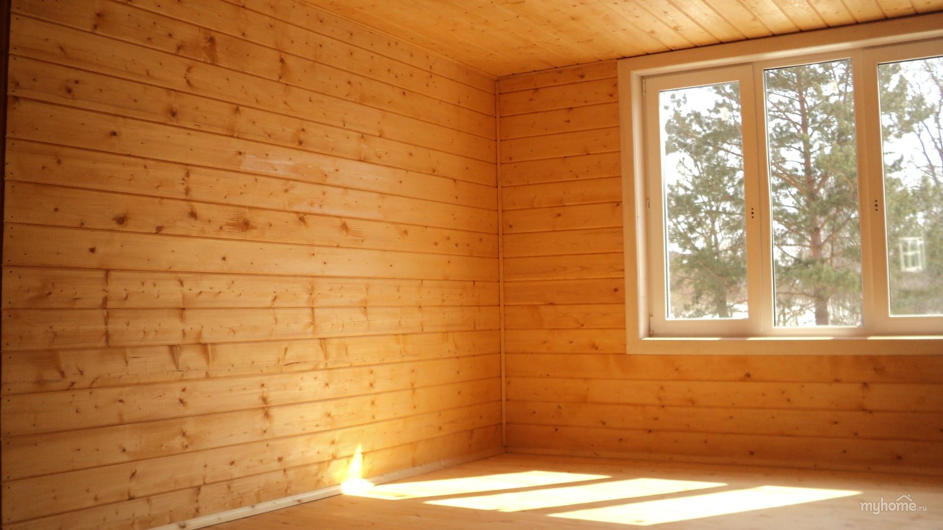 Отделка стен своими руками в деревянном доме 31