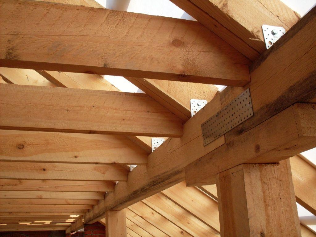 Монтаж четырехскатной крыши своими руками на доме из бруса 2