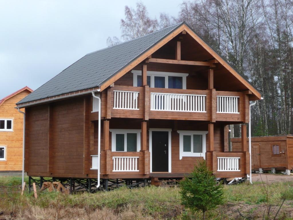 Проекты строительства деревянных загородных домов Цены