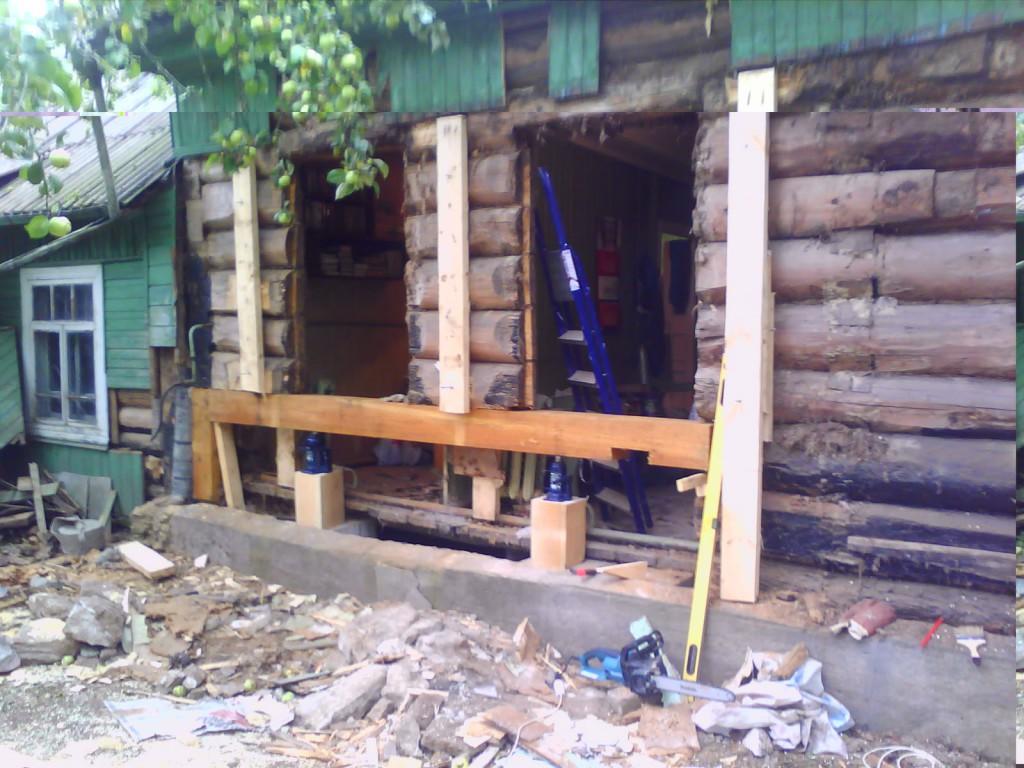 19856_ремонт_фундамента_старого_деревянного_дома
