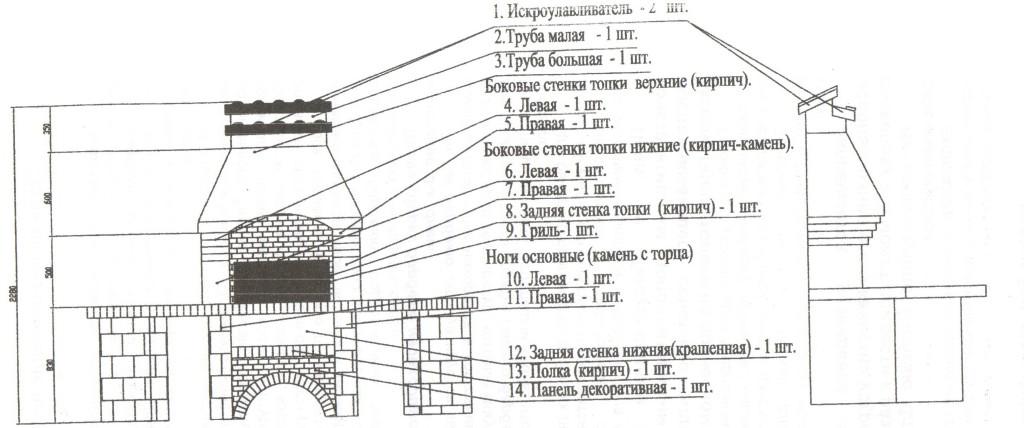 Pechki_barbekyu_iz_kirpicha_shema_4