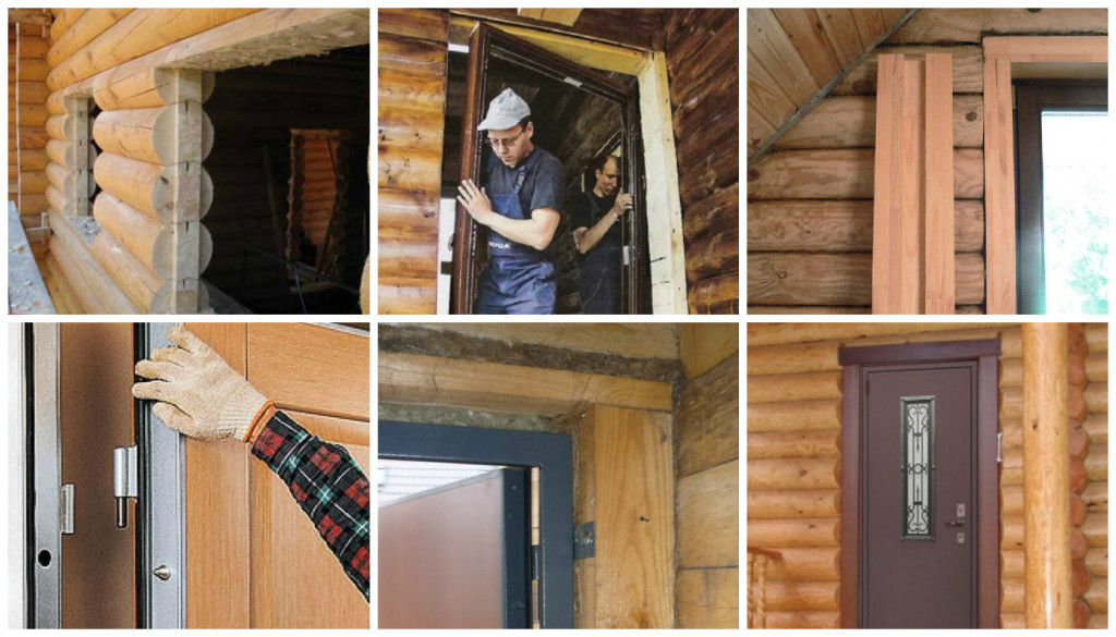 montag-geleznoy-dveri-v-srub