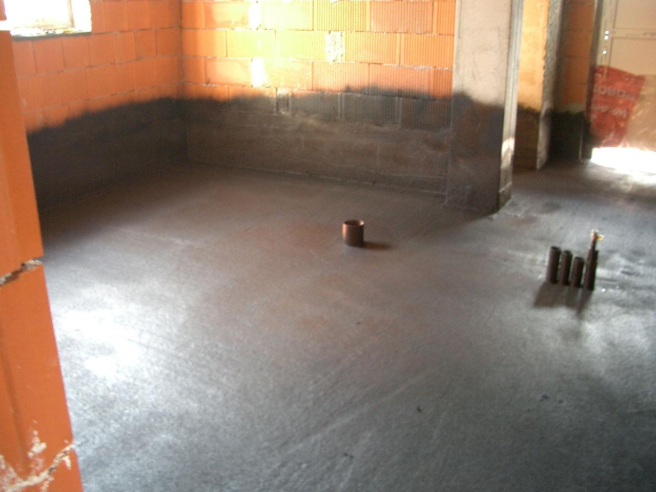 Obmazochny hydroizolačná podlaha cena