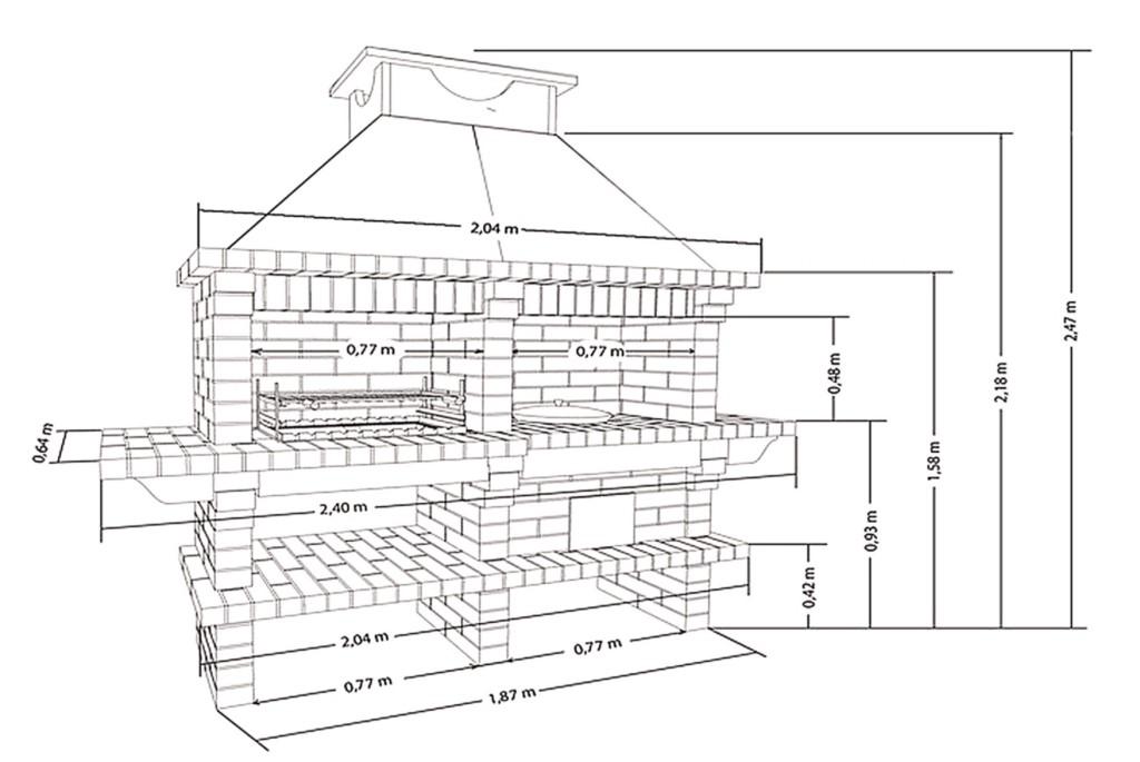 Проект и монтаж стационарного уличного камина конструкция и проектирование....