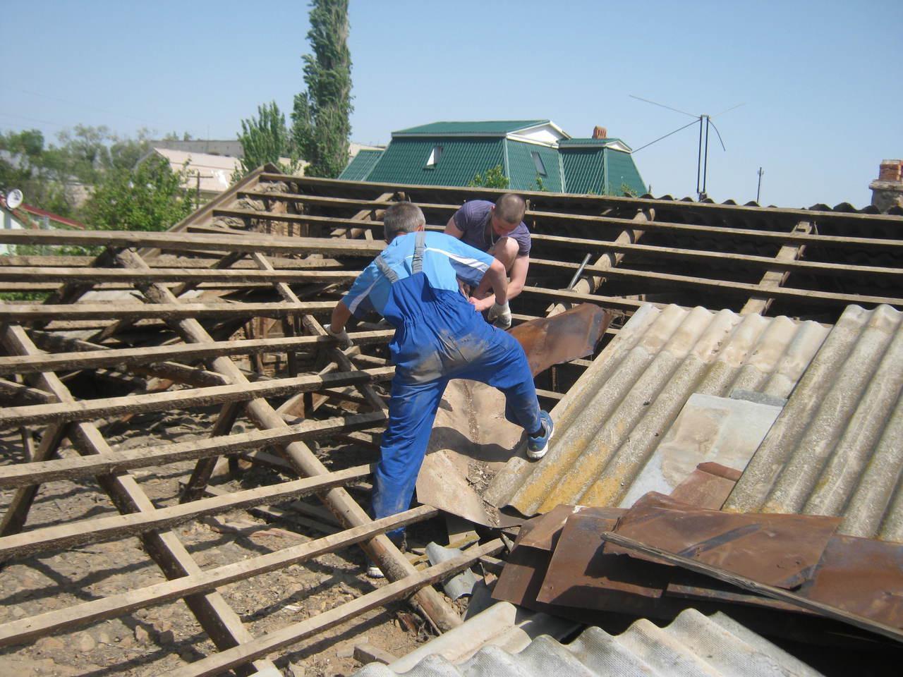 Ремонт кровли крыши частного дома цена за работу в тюмени