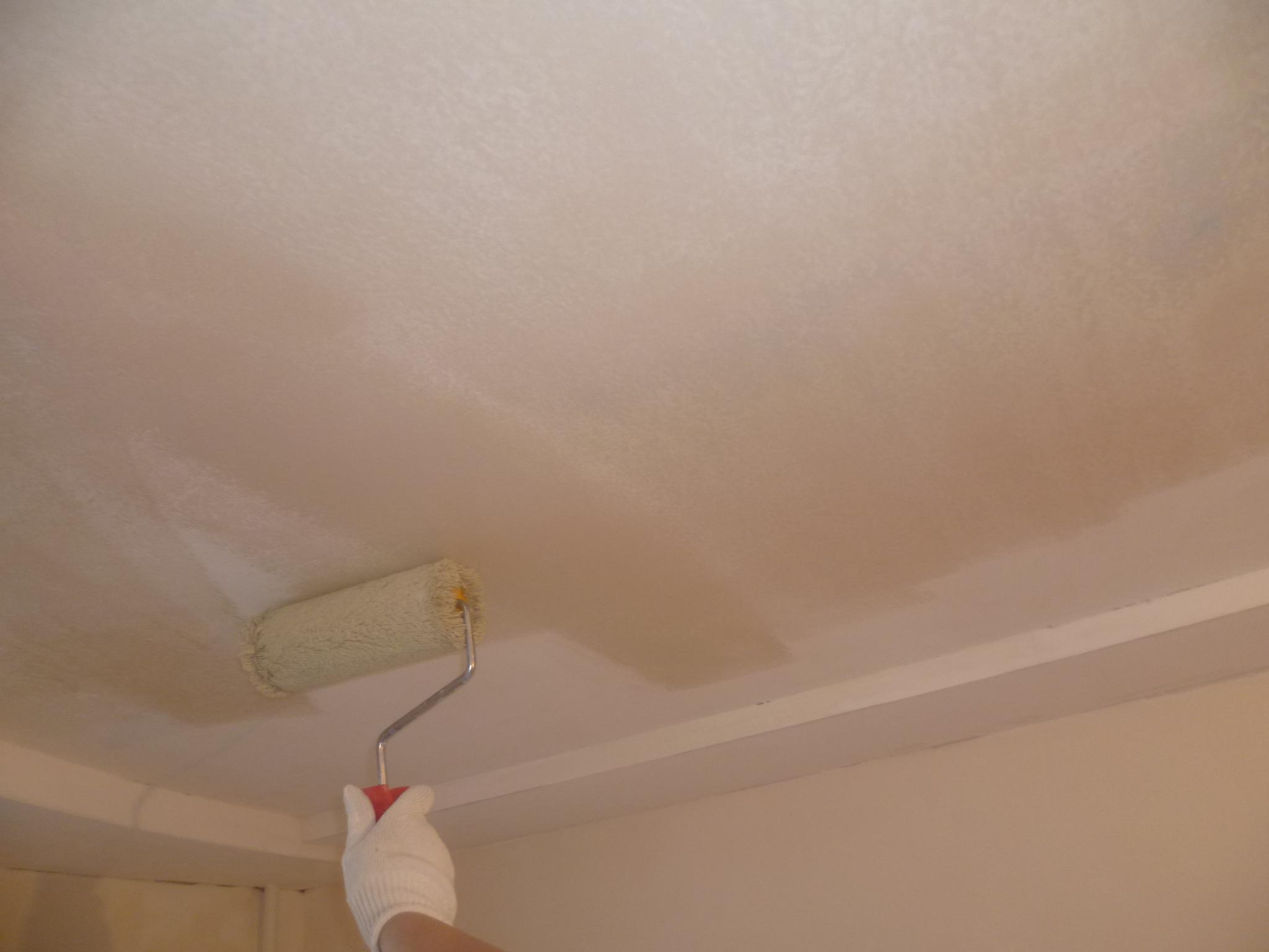 Сколько надо краски для покраски потолка 15 кв.м наливные полы видео обучение