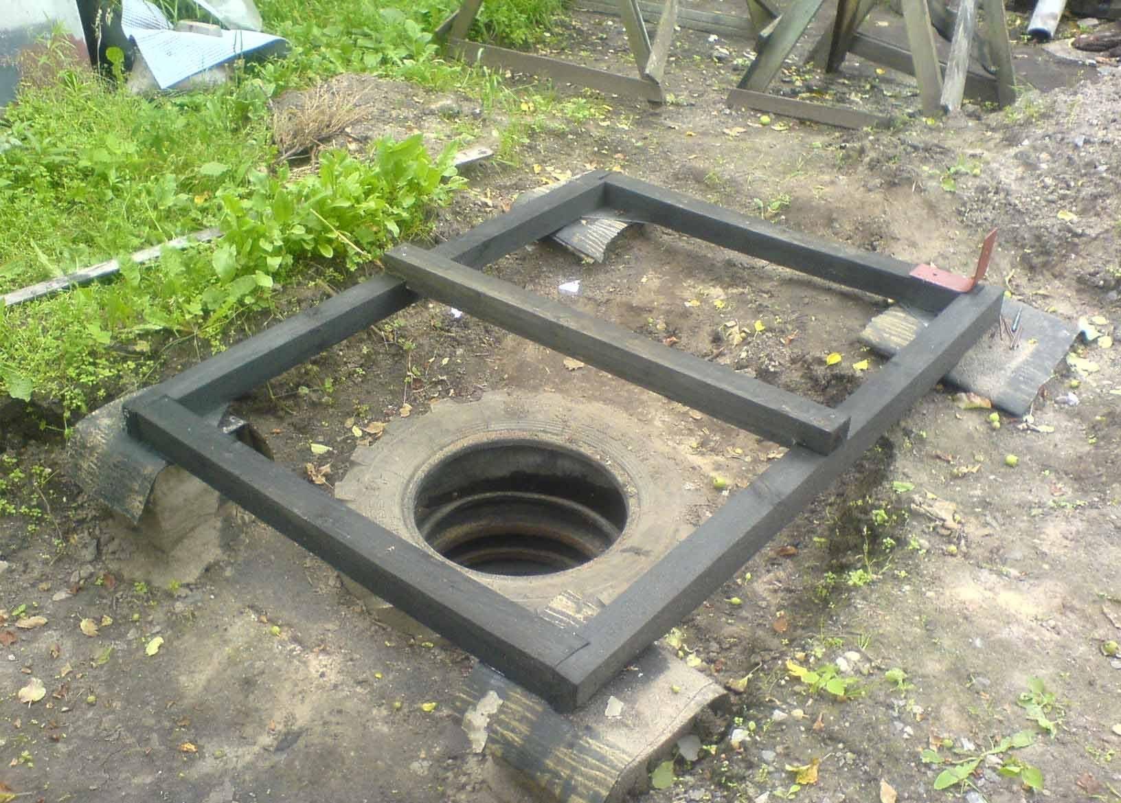 Как сделать яму для туалета