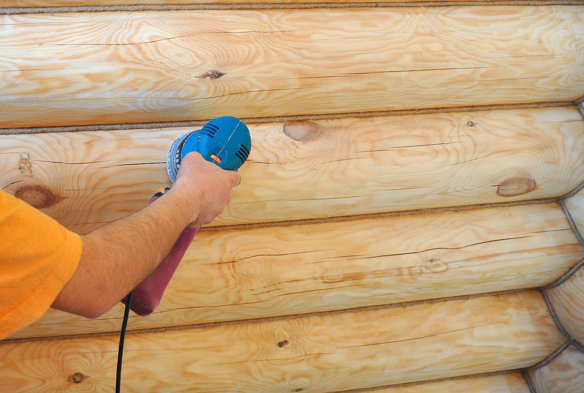 Как в срубе сделать стену из 190