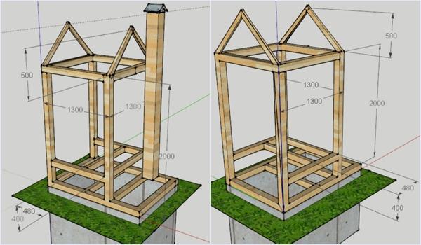 Четвертый-этап-–-подготовка-рамной-конструкции