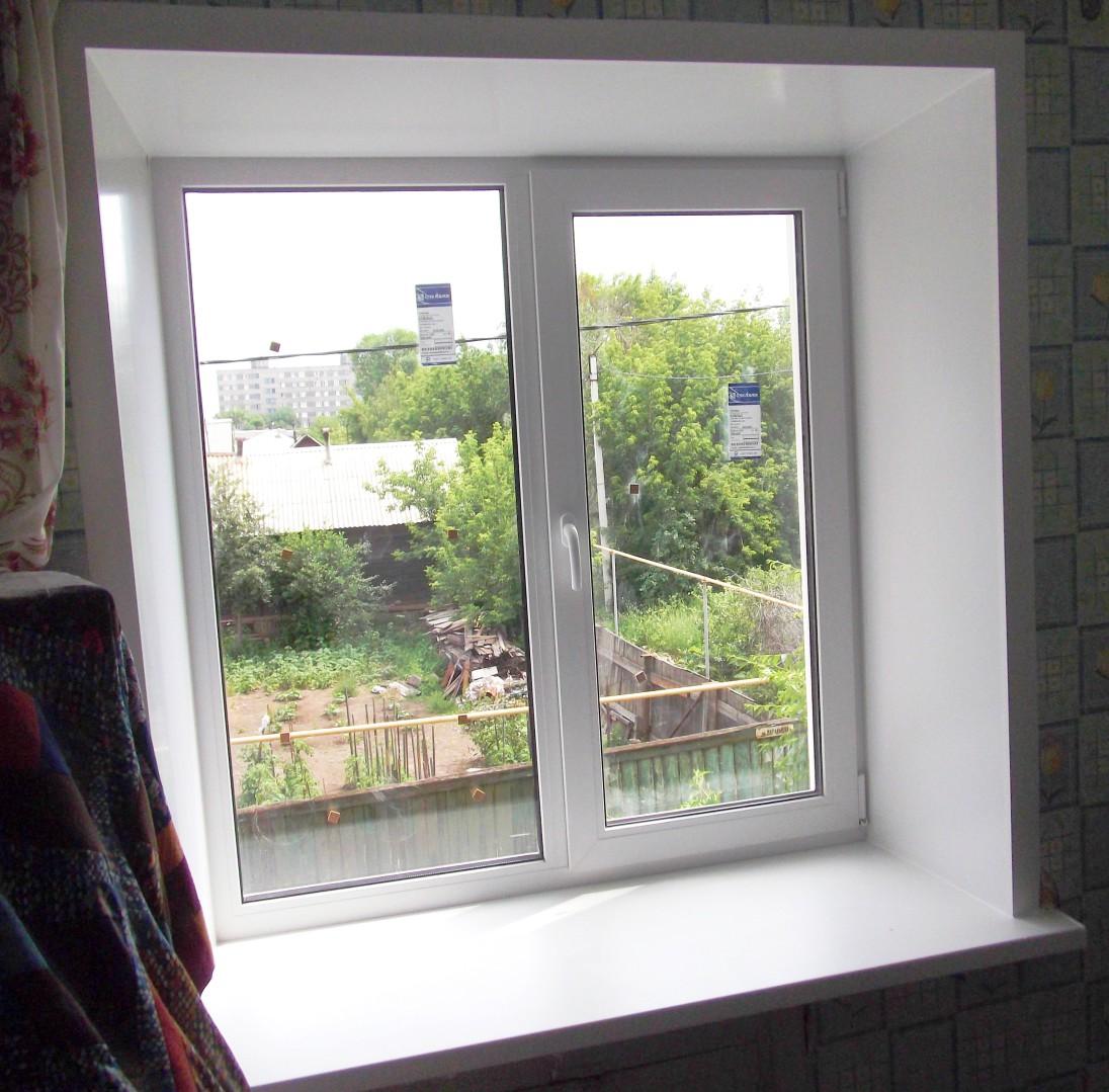 Окна пластиковые отделка своими руками фото
