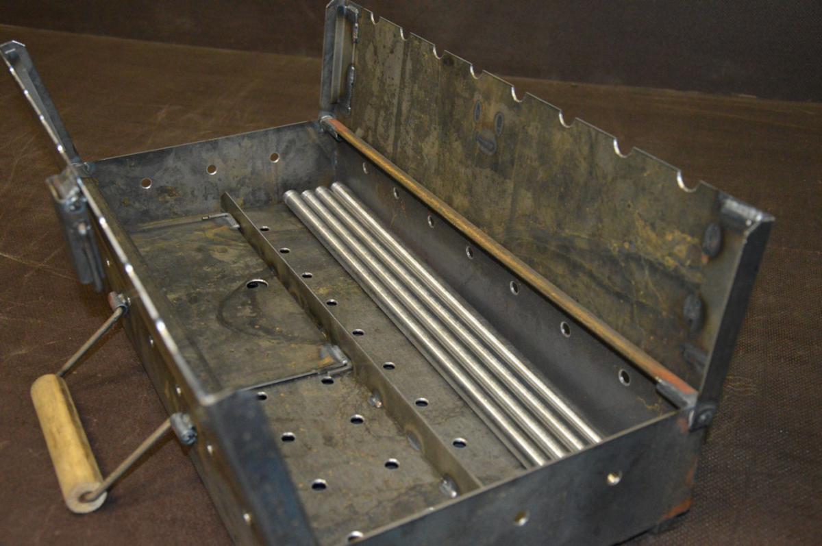 Мангал чемодан своими руками из металла чертежи