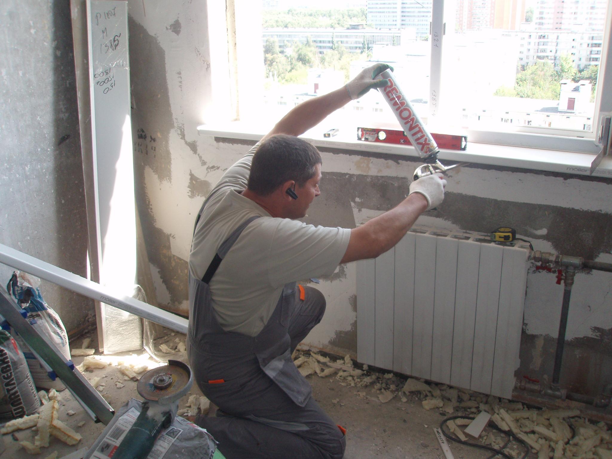Заделка межпанельных швов в панельных домах в спб